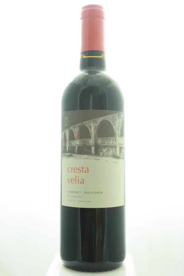 Cresta Velia Cabernet Sauvignon Ithica Vineyard 2016