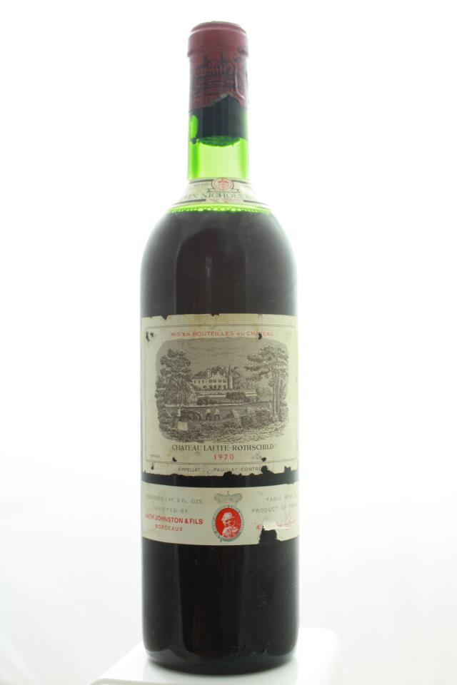 Lafite Rothschild 1970