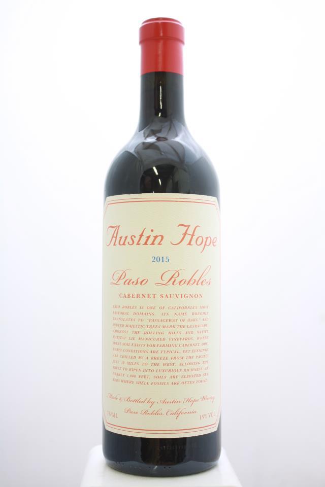 Austin Hope Cabernet Sauvignon 2015