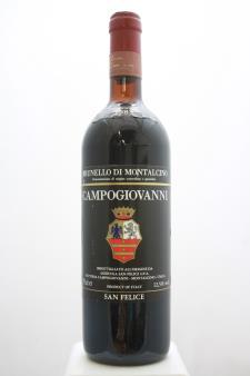 San Felice Brunello di Montalcino Campogiovanni 1983
