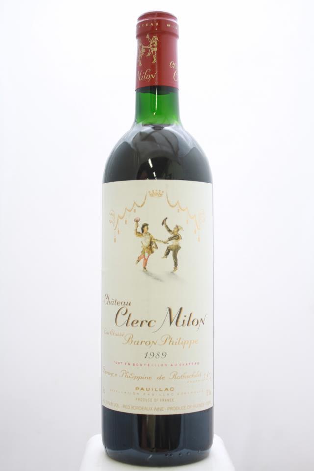 Clerc Milon 1989