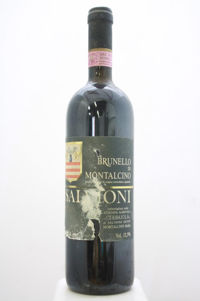Salvioni Brunello di Montalcino Cerbaiola 1988