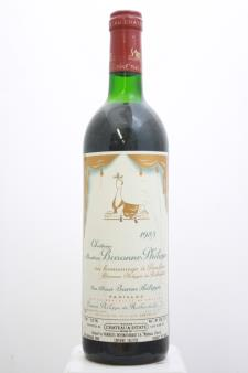 Mouton Baronne Philippe 1985