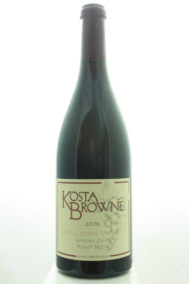 Kosta Browne Pinot Noir Gap's Crown Vineyard 2008