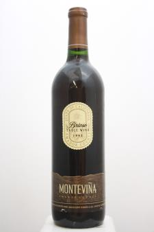 Montevina Proprietary Red Brioso 1992