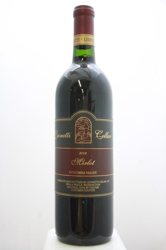 Leonetti Cellar Merlot Columbia Valley 2002