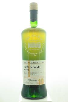 The Scotch Malt Whisky Society Single Malt Scotch Whisky Single Cask The St Bernard