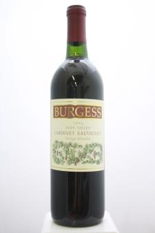 Burgess Cabernet Sauvignon Vintage Selection 1994