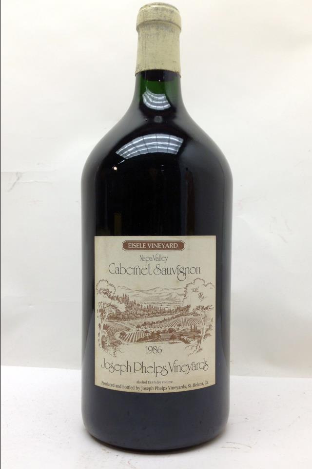Joseph Phelps Cabernet Sauvignon Eisele Vineyard 1986