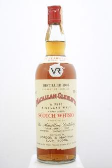 Macallan-Glenlivet A Pure Highland Malt Scotch Whisky 25-Years-Old 1948