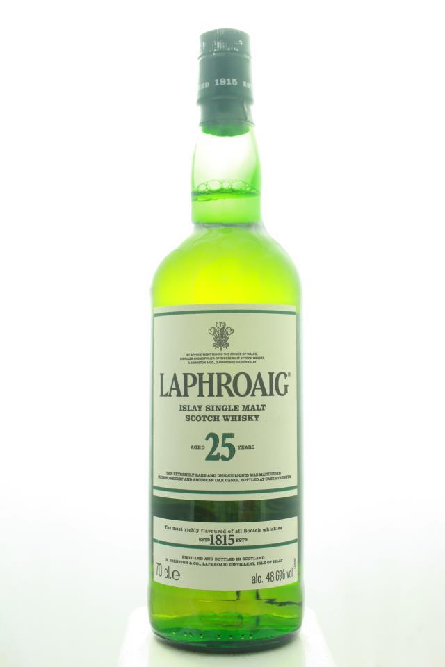 Laphroaig Single Islay Malt Scotch Whisky 25-Year-Old 2016 Edition NV