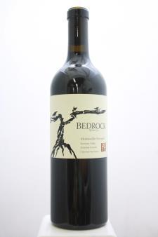 Bedrock Cabernet Sauvignon Montecillo Vineyard 2015