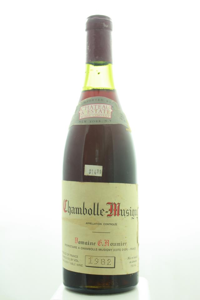 Georges Roumier Chambolle-Musigny 1982