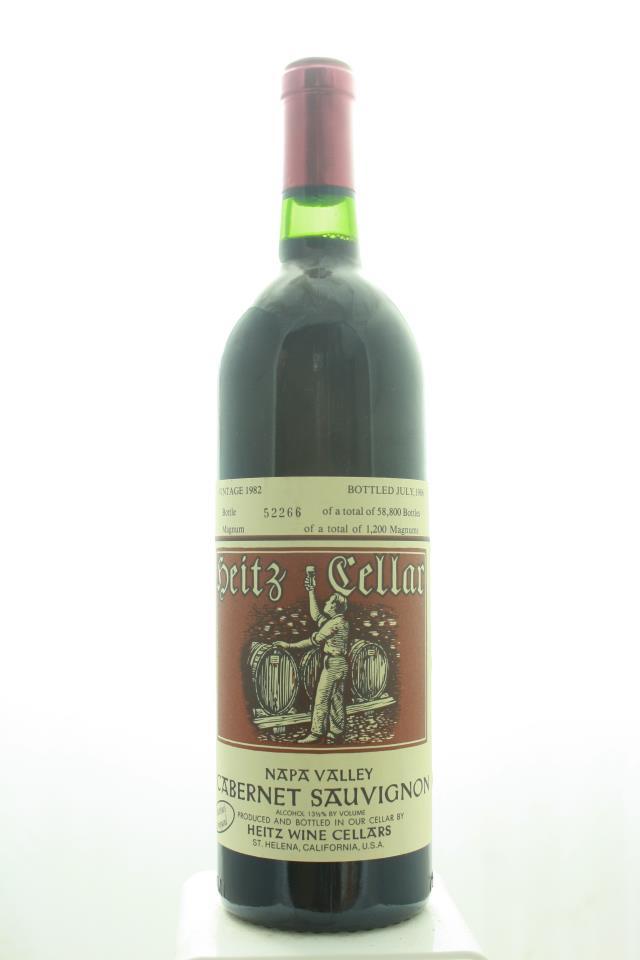 Heitz Cellar Cabernet Sauvignon Martha's Vineyard 1982