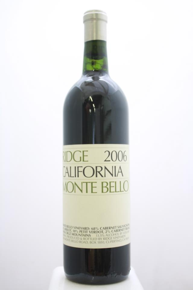 Ridge Vineyards Proprietary Red Monte Bello 2006