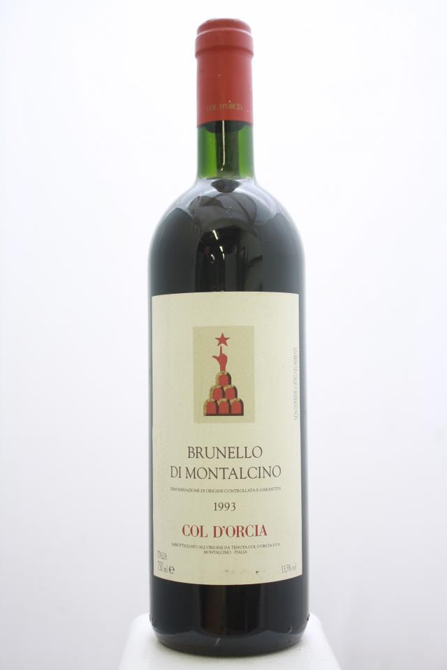 Col d'Orcia Brunello di Montalcino 1993