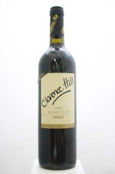 Clarence Hill Shiraz Classique Range 2001