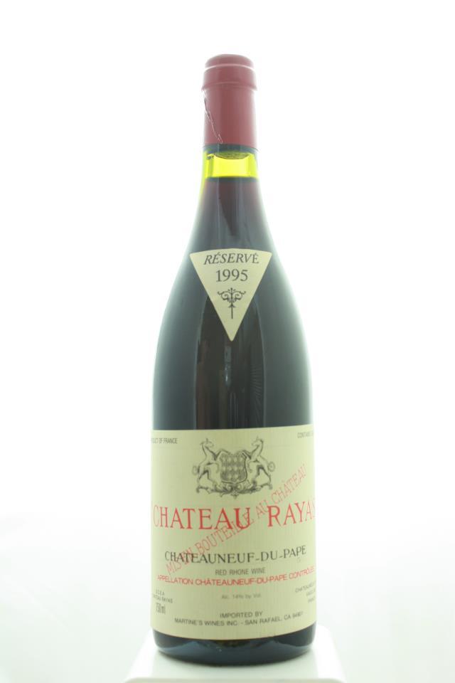 Château Rayas Châteauneuf-du-Pape Cuvée Réservé 1995