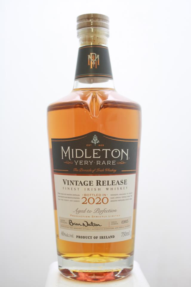Midleton Very Rare Vintage Release Irish Whiskey 2020
