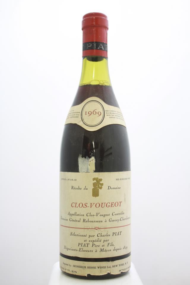 Charles Piat Clos-Vougeot 1969