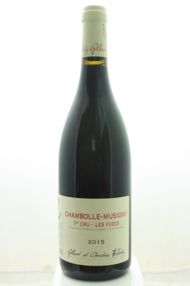 Gilbert et Christine Felettig Chambolle-Musigny Les Fuees 2015