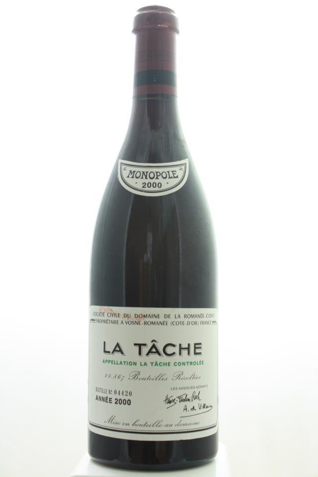 Domaine de la Romanée-Conti La Tâche 2000