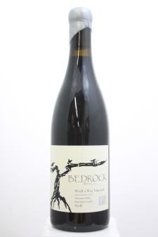 Bedrock Syrah Weill a Way Vineyard Exposition Two 2013