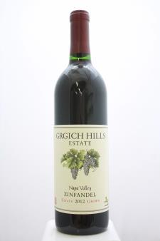 Grgich Hills Zinfandel 2012