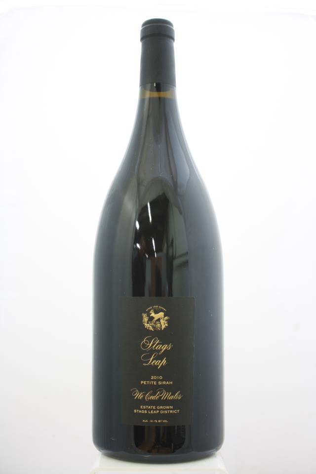 Stags' Leap Winery Petite Sirah Ne Cede Malis 2010