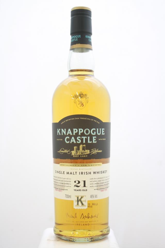 Knappogue Castle Single Malt Irish Whiskey 21-Years-Old NV