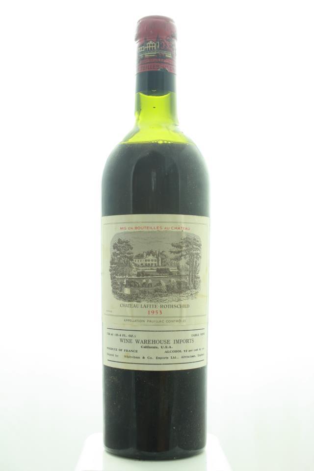 Lafite Rothschild 1953