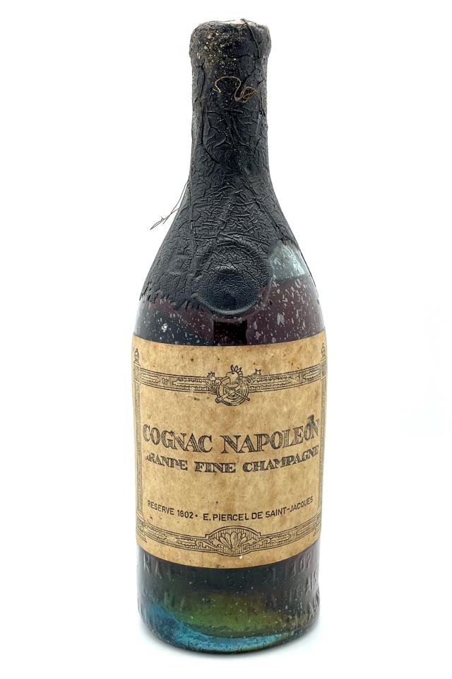 E. Piercel de Saint-Jacques Cognac Napoleon Grande Fine Champagne Réserve 1802