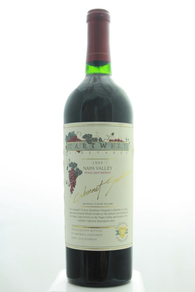 Hartwell Vineyards Cabernet Sauvignon Sunshine Vineyard 1995