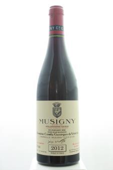Comte Georges de Vogüé Musigny Cuvée Vieilles Vignes 2012