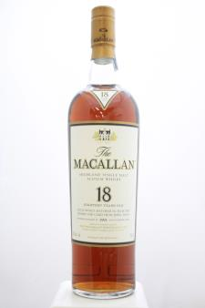 The Macallan Sherry Oak Cask Single Malt Scotch Whisky 18-Year-Old 1993