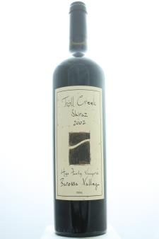 Troll Creek Shiraz Hage Family Vineyards 2002