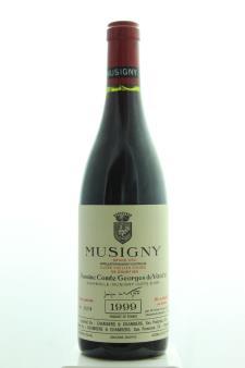 Comte Georges de Vogüé Musigny Cuvée Vieilles Vignes 1999