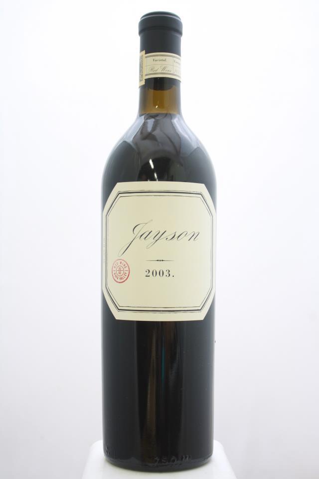 Pahlmeyer Proprietary Red Jayson 2003