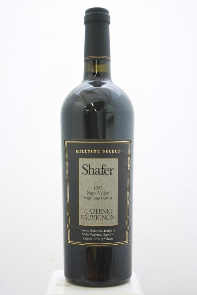 Shafer Cabernet Sauvignon Hillside Select 1995