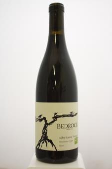 Bedrock Syrah Alder Springs Vineyard 2015