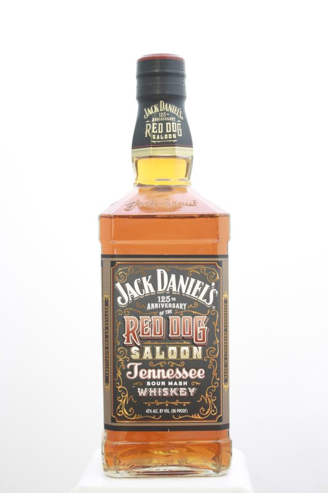 Jack Daniel's Tennessee Sour Mash Whiskey 125th Anniversary of the Red Dog Saloon NV