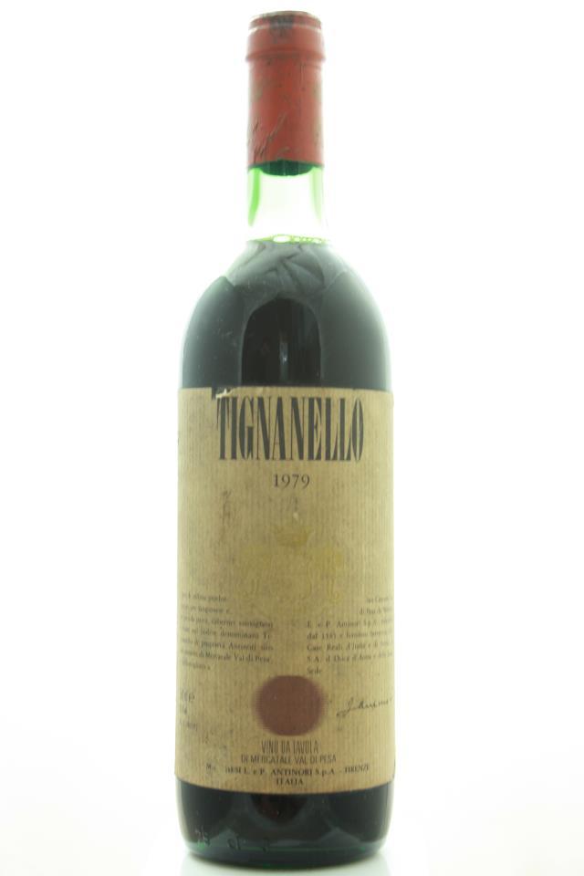 Antinori Tignanello 1979