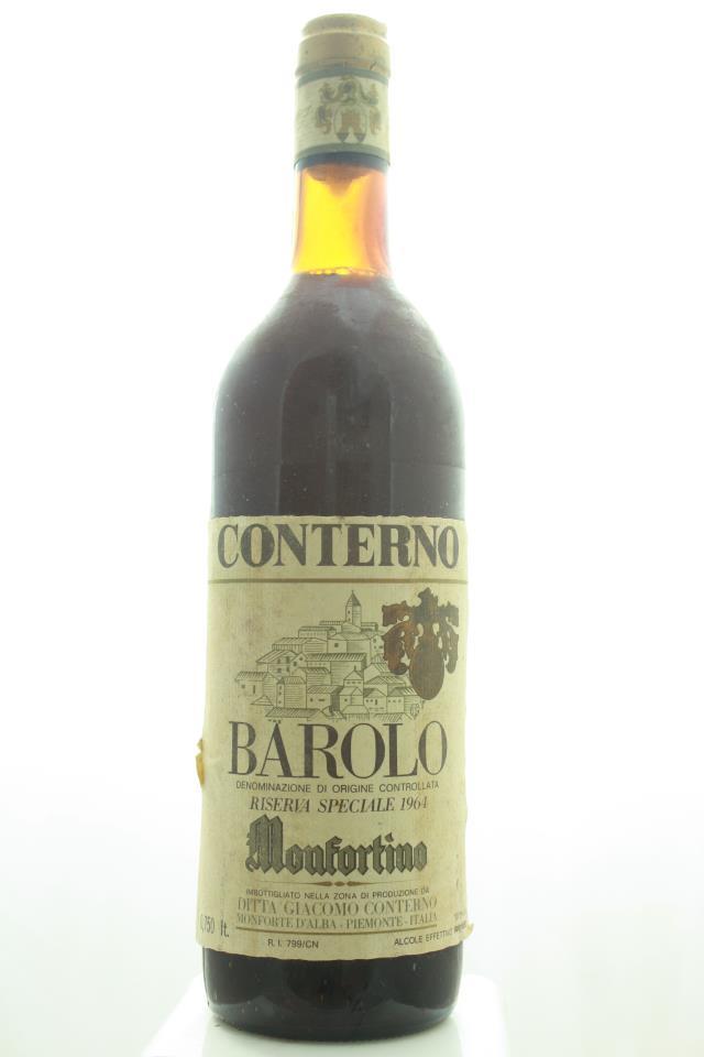 Giacomo Conterno Barolo Riserva Monfortino 1964