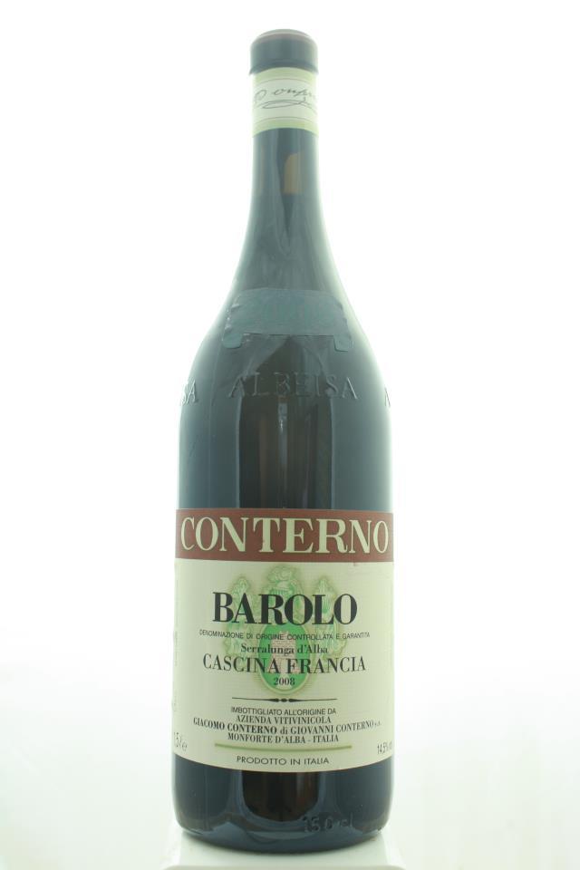Giacomo Conterno Barolo Cascina Francia 2008