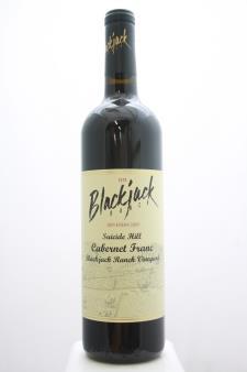 Blackjack Ranch Cabernet Franc Blackjack Ranch Vineyard Suicide Hill 2010