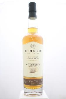 Bimber Single Malt London Whisky Small Batch Re-Charred Oak Casks Char Level #4 2019