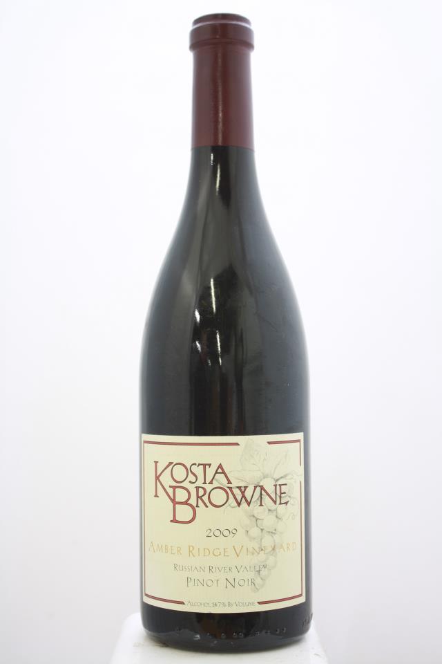 Kosta Browne Pinot Noir Amber Ridge Vineyard 2009