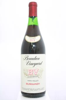 BV Proprietary Red Burgundy 1971