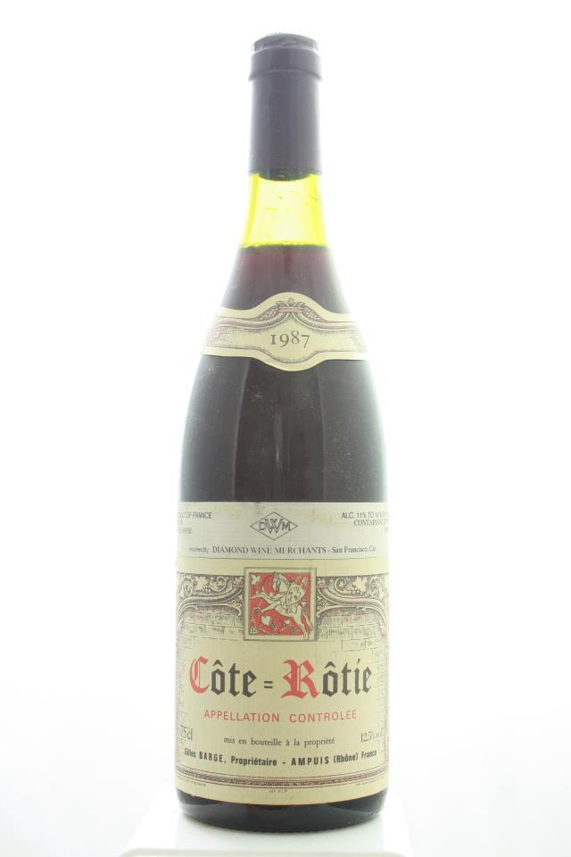 Gilles Barge Côte-Rôtie 1987
