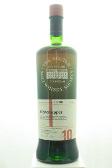 The Scotch Malt Whisky Society Single Malt Scotch Whisky Single Cask Slipper Sipper 10-Years-Old 2007